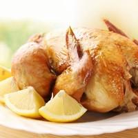 Курица с золотистой корочкой в духовке