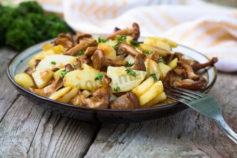 Жаркое грибами рецепт с фото