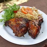 Курица на гриле по-тайски