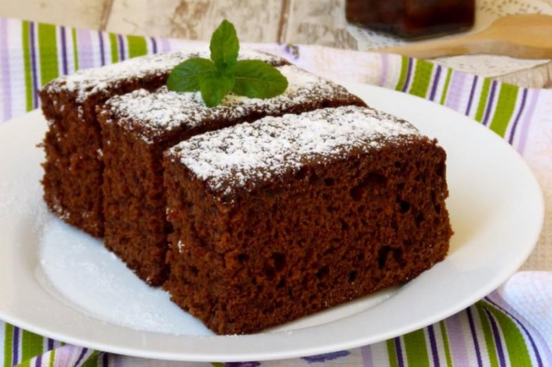 Рецепт коврижки из кефира и варенья рецепт с пошагово