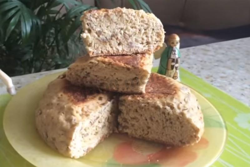 Хлеб без дрожжей без кефира в мультиварке рецепты пошагово 34