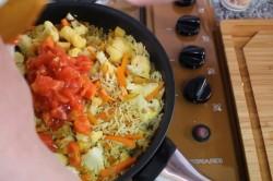 Плов постный с овощами