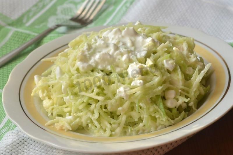 как приготовить салат из редьки