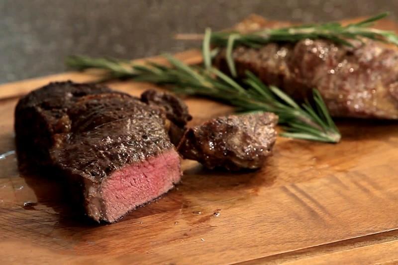 стейк из мраморной говядины рецепт на сковороде
