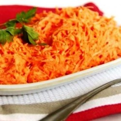 Морковь с сахаром и тыквенным маслом