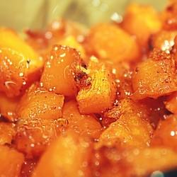 Десерт из тыквы в духовке