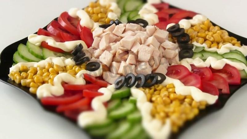быстрые салаты рецепты с фото