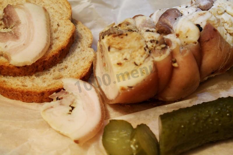 Рулет мясной в тесте в духовке рецепт пошагово 13