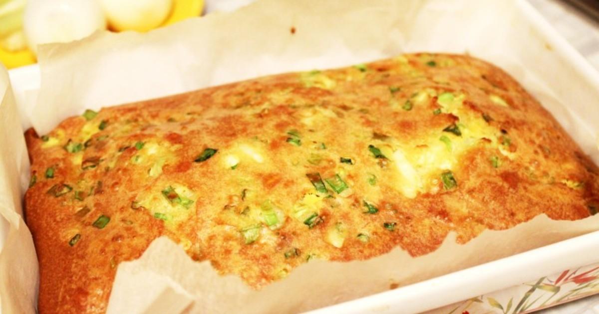 заливной пирог с сайрой на кефире рецепт с фото