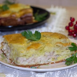 Капустный пирог (51 рецепт с фото) - рецепты с ...