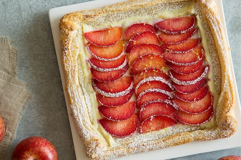 Слоеное тесто с малиной рецепт с пошагово в духовке 152