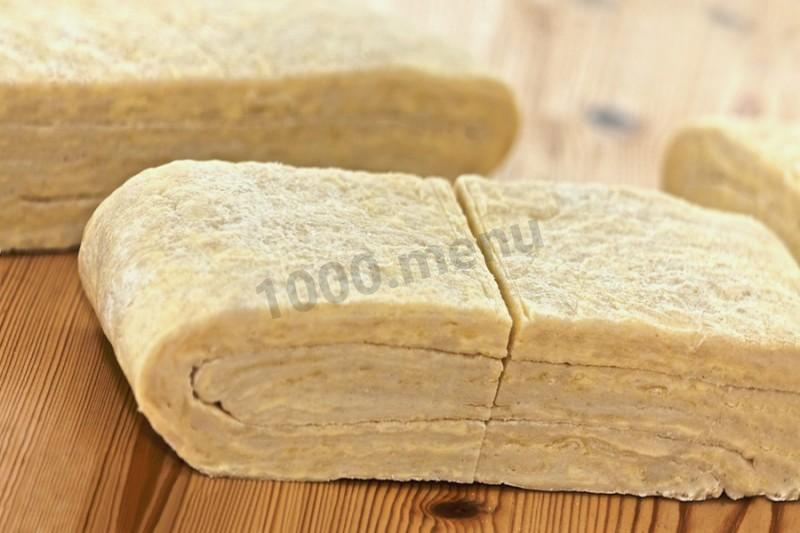 Тесто слоеное с разрыхлителем рецепт