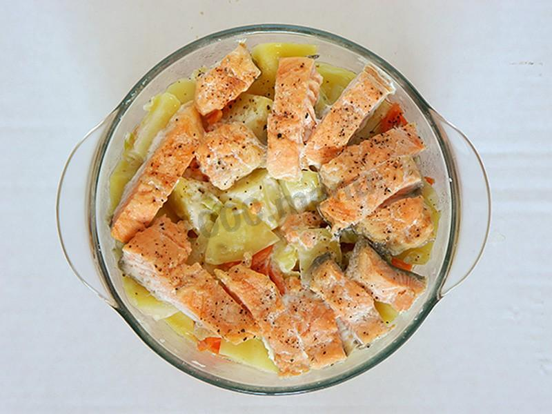 Как приготовить рыбу в микроволновке пошаговый рецепт