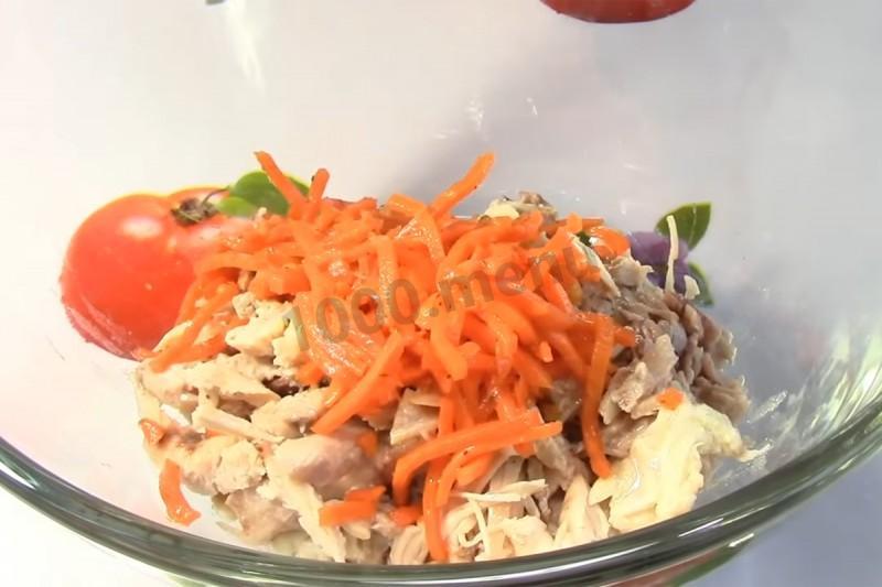 Салаты с капустой и ветчиной рецепты простые и вкусные