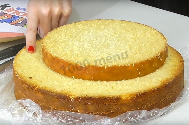 Торт киндер сюрприз пошаговый рецепт