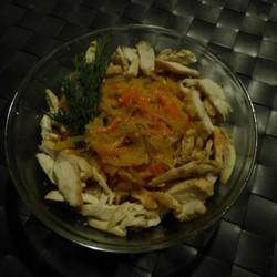 Смотреть Салат с ананасом и мясом курицы видео