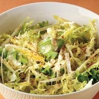 Салат из эндивия с ореховым соусом