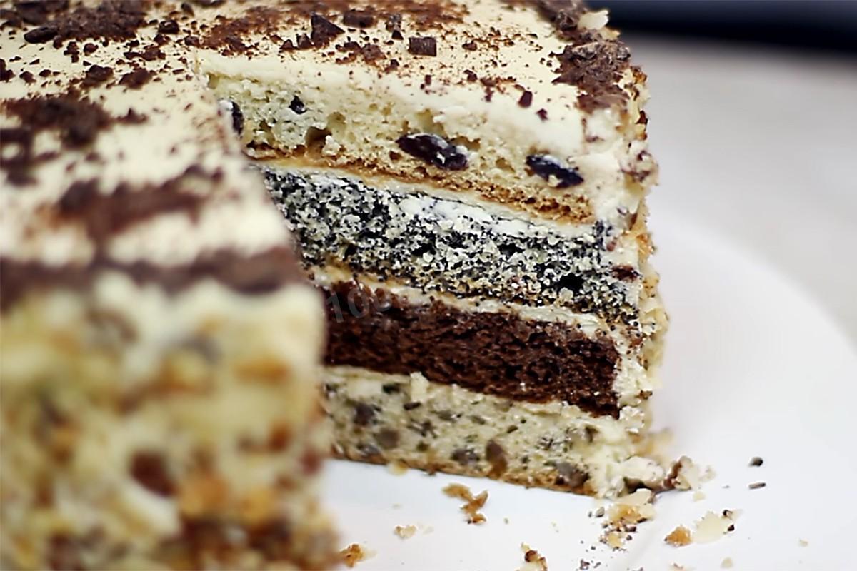 торт рецепт видео