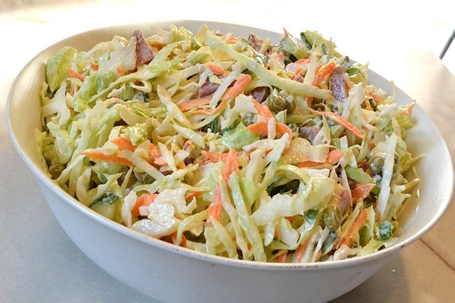 Салаты с капустой кольраби рецепты с простые и вкусные