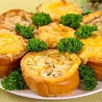 Фото рецепт говяжья печень с грибами в