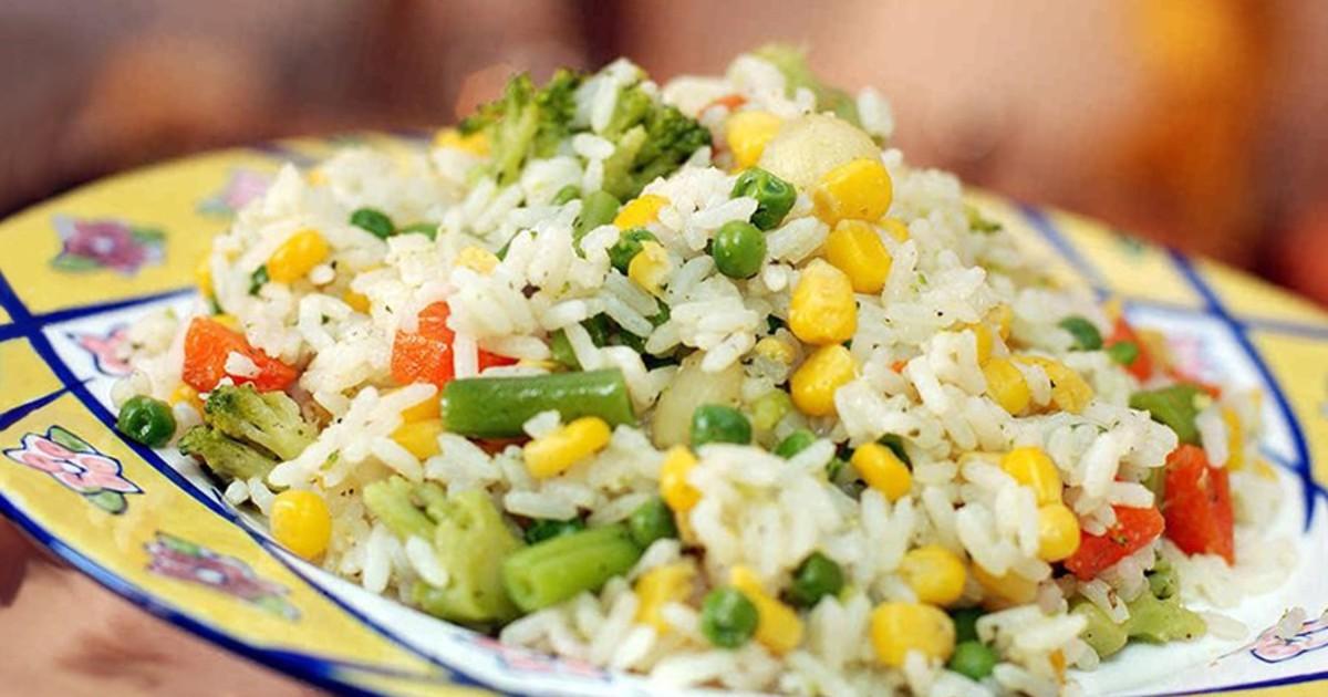 Вегетарианские блюда из риса рецепты простые и вкусные 59