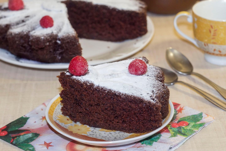 Как приготовить сладкий пирог без яиц — 9
