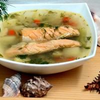 суп из брюшек семги рецепт с рисом