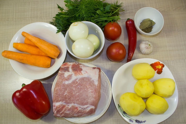 Рецепт шурпы в домашних условиях из свинины