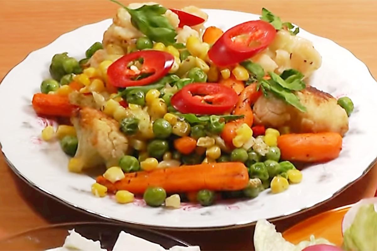 блюда из замороженных овощей рецепты с фото этой статье