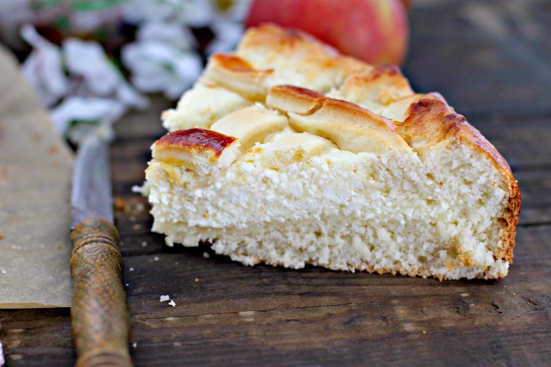 Сдобное тесто для пирога с яблоками рецепт пошагово