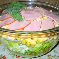 Легкий салат на день рождения