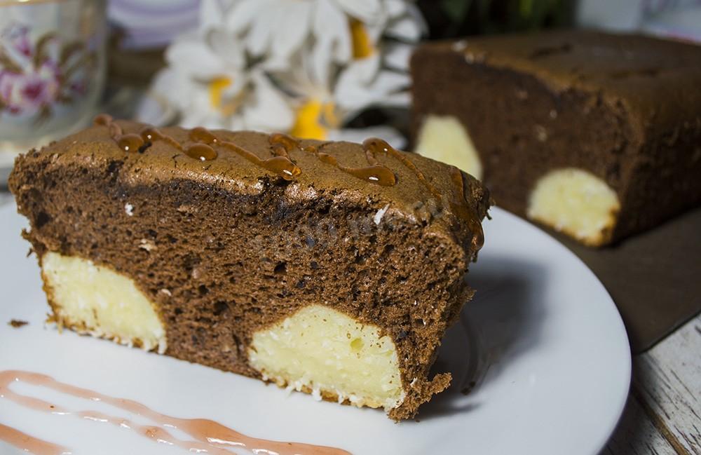 Шоколадный торт с творожными шариками рецепт пошагово