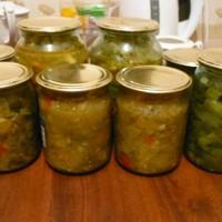 Салат На Зиму из помидоров и болгарского перца