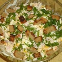 Салат Праздничный вкусный и недорогой
