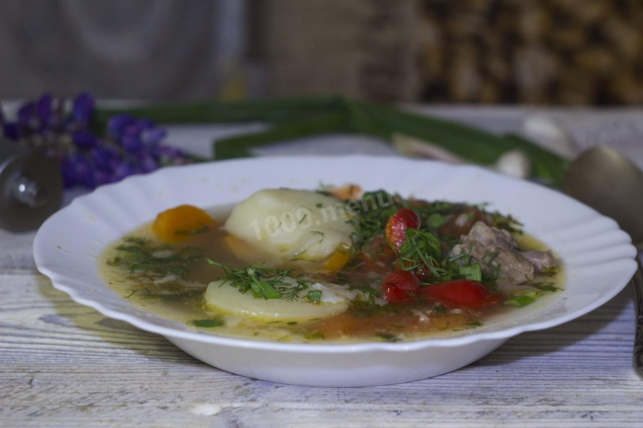 Коурма шурпа, жареная, пошаговый рецепт с фото - Гастроном