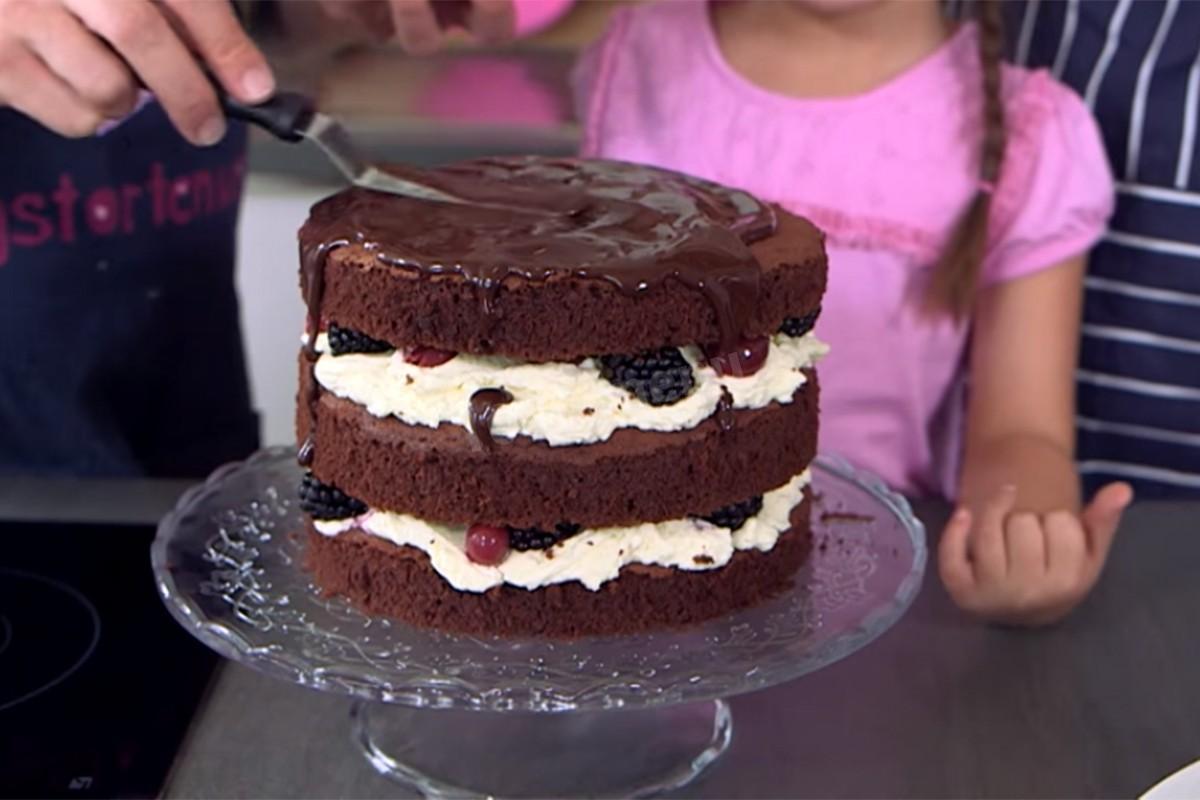 Торт голый рецепт с фото пошагово