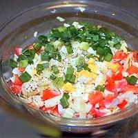 Крабового знакомство из салат мяса