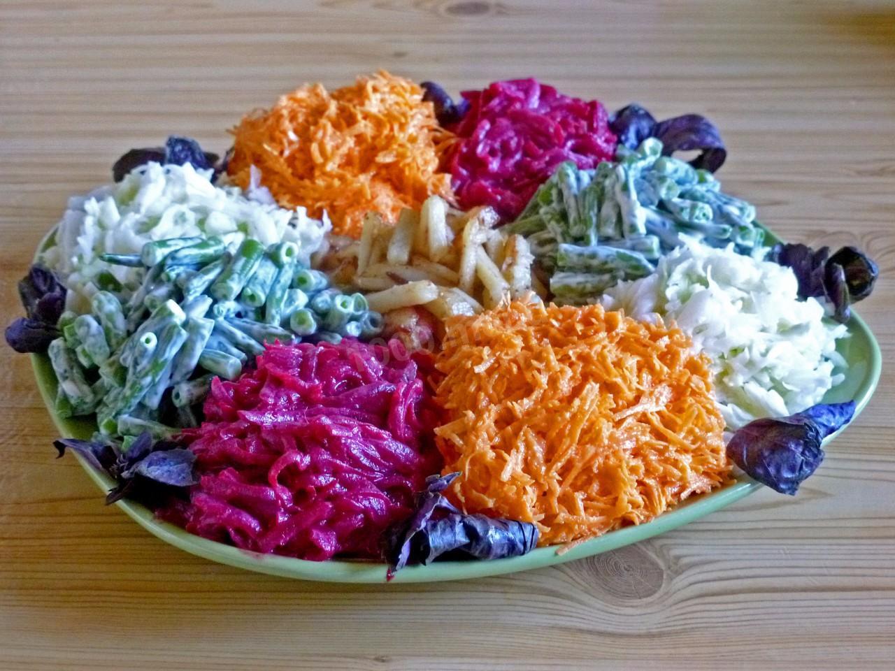 Салат огни парижа с курицей рецепт с фото — pic 10
