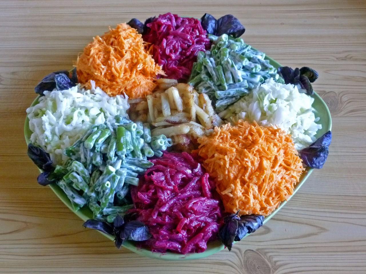 Салат огонек рецепт