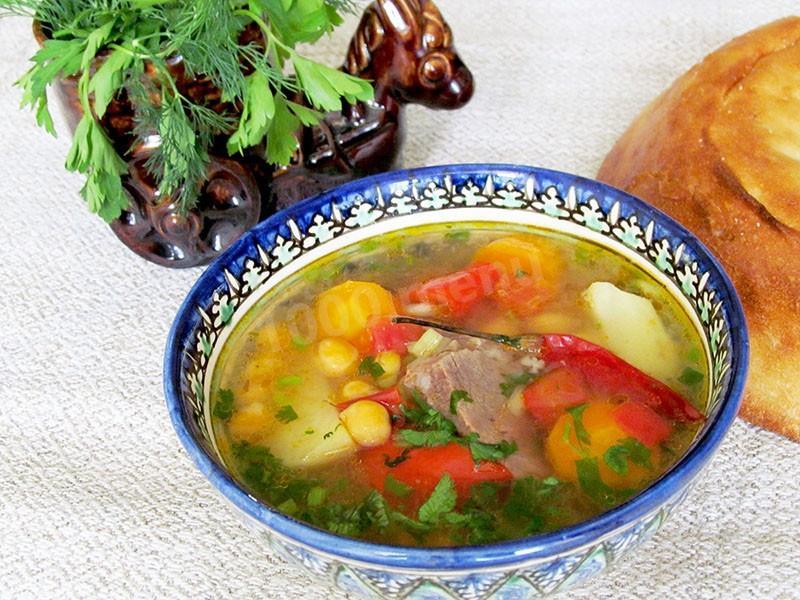 Шурпа узбекская рецепт классический пошаговый рецепт с фото