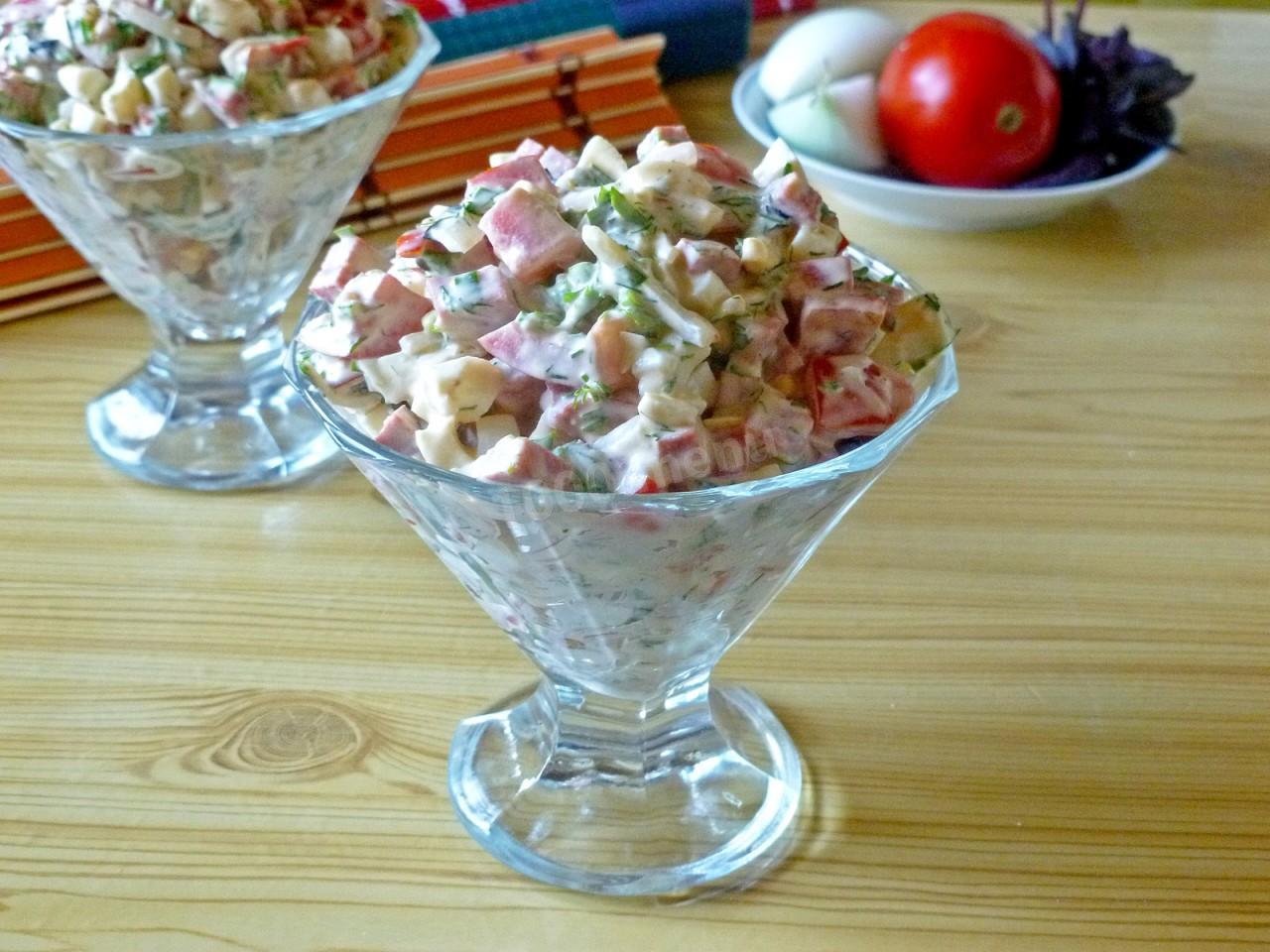 московский салат на зиму рецепт