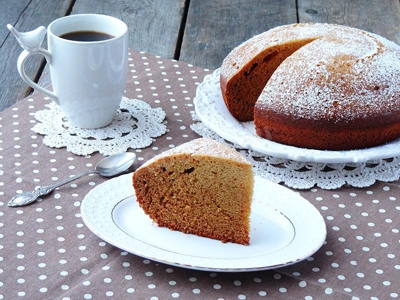 Пирог сладкий на скорую руку в мультиварке — 2