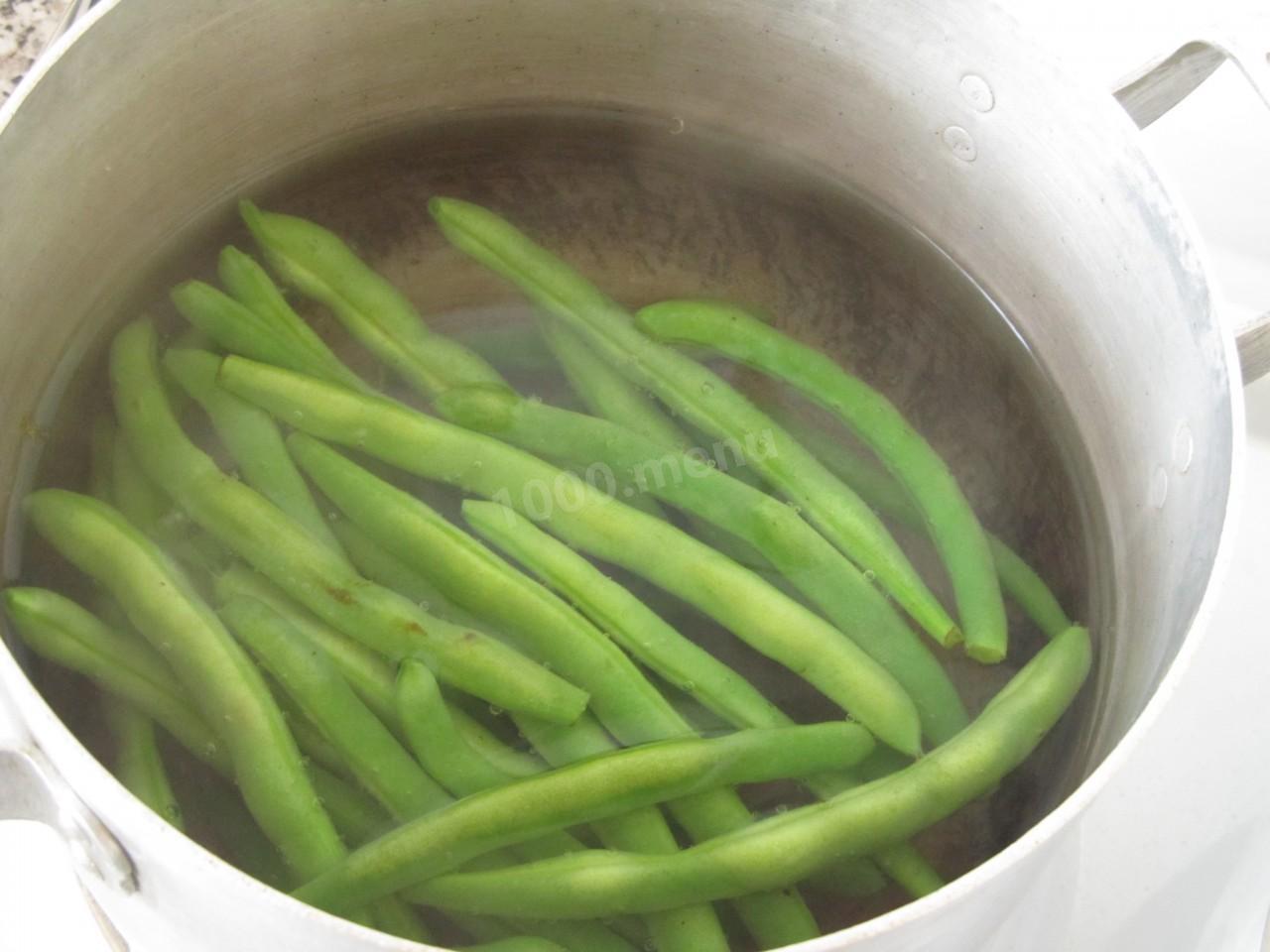 Рецепт спаржевой фасоли пошагово