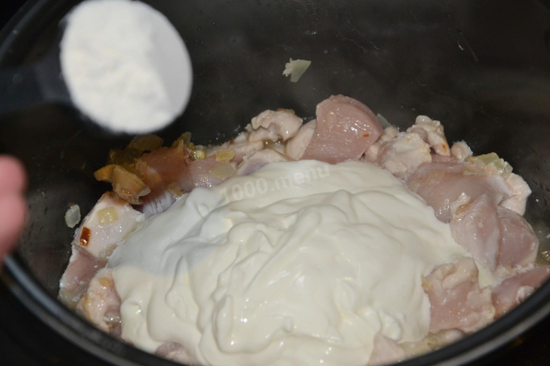 Сметанный соус к курице рецепт пошагово
