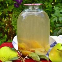 Компот из груш с лимонной кислотой