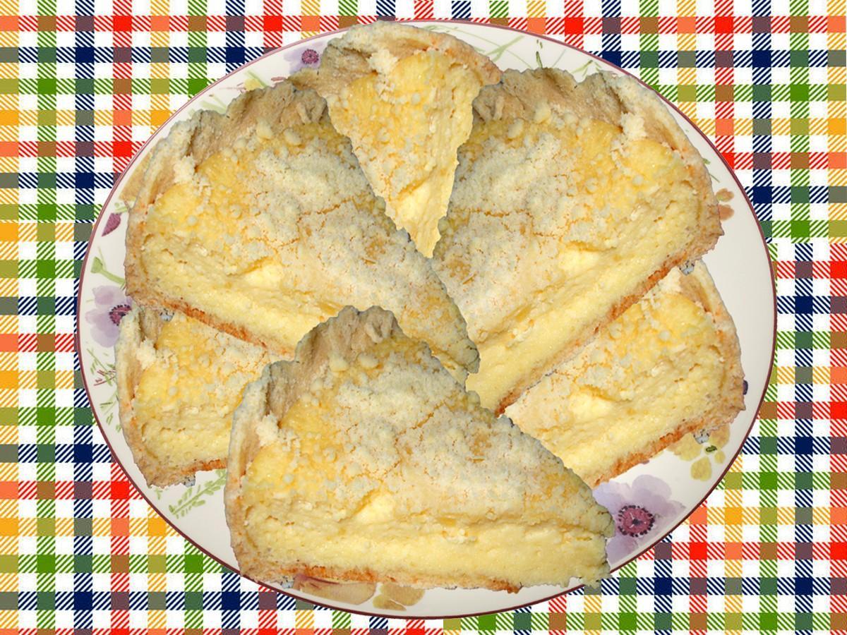 Тёртый пирог с вареньем и творогом рецепт фото