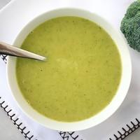 Суп пюре из брокколи и кабачков