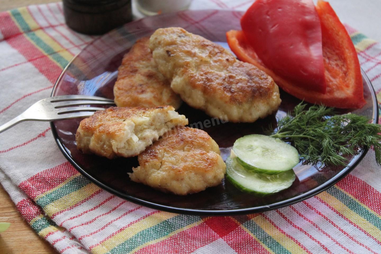 рецепт приготовления вкусных куриных котлет