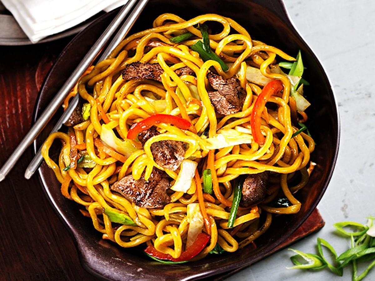 Китайская лапша Ло Мейн Домашние рецепты 60