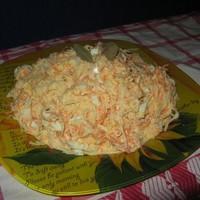 Салат из черной редьки с морковью